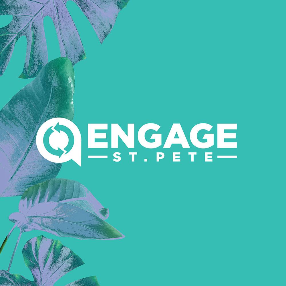 Engage St. Pete Logo - Stevie & Fern Client