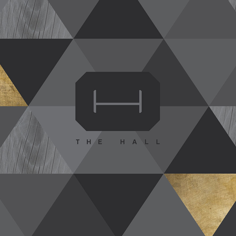 Hall on Franklin Logo - Stevie & Fern Client