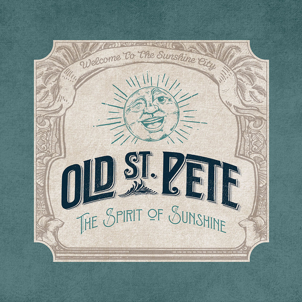 Old St. Pete logo - Stevie & Fern Client